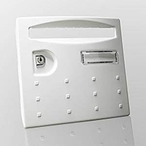 Boites aux lettres collectives Intérieur acier - Version Damier