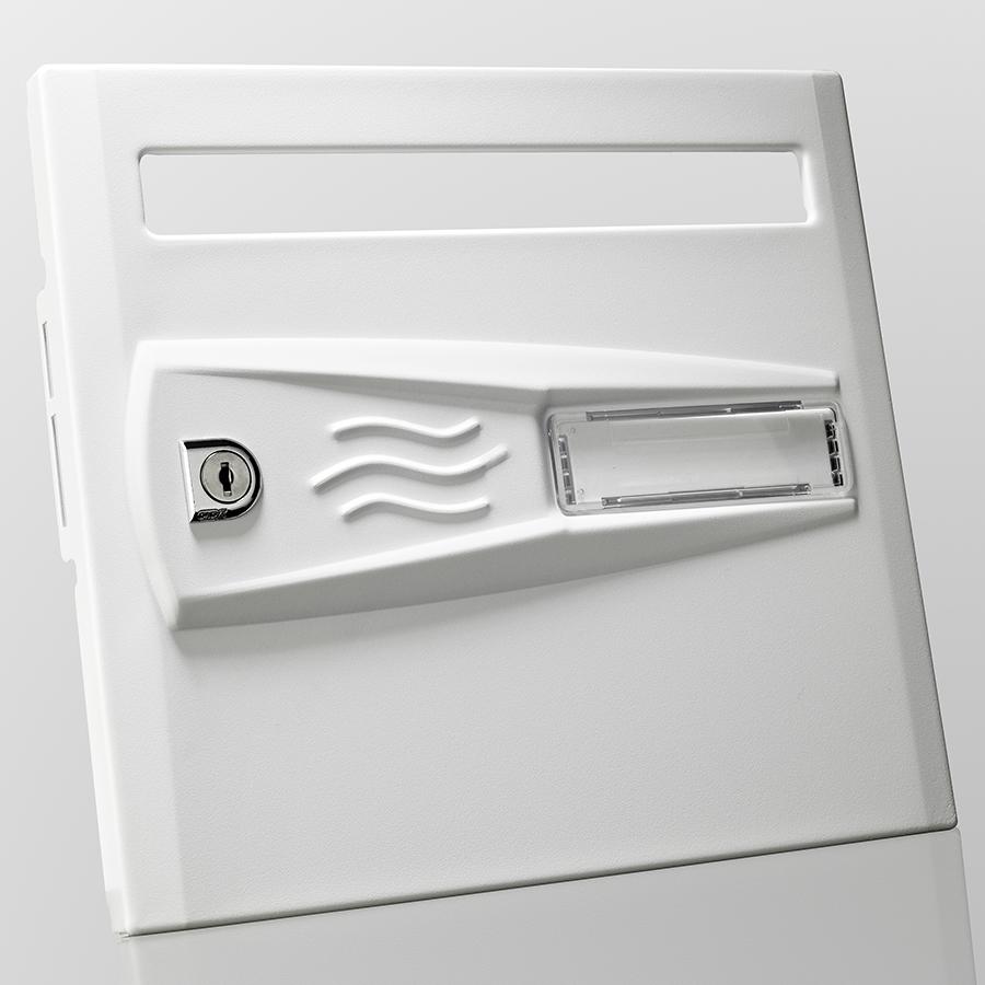 Boites aux lettres collectives Intérieur acier - Version Vagues