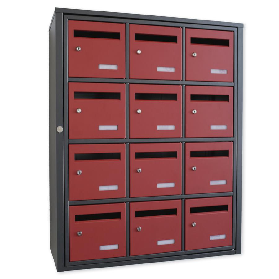 Choisissez l'acier magnelis pour des boites aux lettres très solides