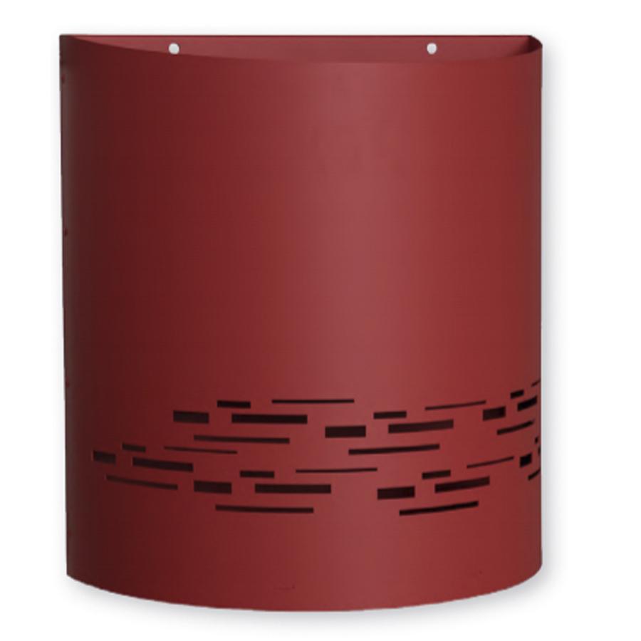 Agencez votre entrée avec la corbeille en acier magnelis de 30 litres